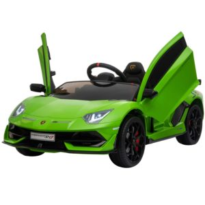 front open doors lamborghini aventador 12v electric powered ride on car for kids